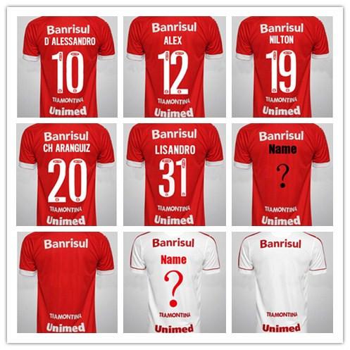 New Arrival camisetas maillot Brazil International soccer jersey 2015 2016 Brazil Internacional 15 16 brasil shirt de Uniform(China (Mainland))