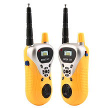 Buy 2Pcs Electronic Walkie Talkie Toy Electronic Portable Two-Way Radio Set Interphone Spy Gadgets Intercom Children Kids Spy Toys for $9.22 in AliExpress store