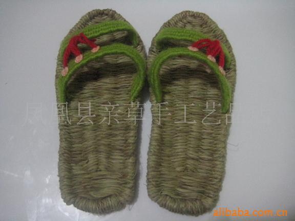 Supply sandals slippers hemp slippers health shoes handmade sandals green shoes