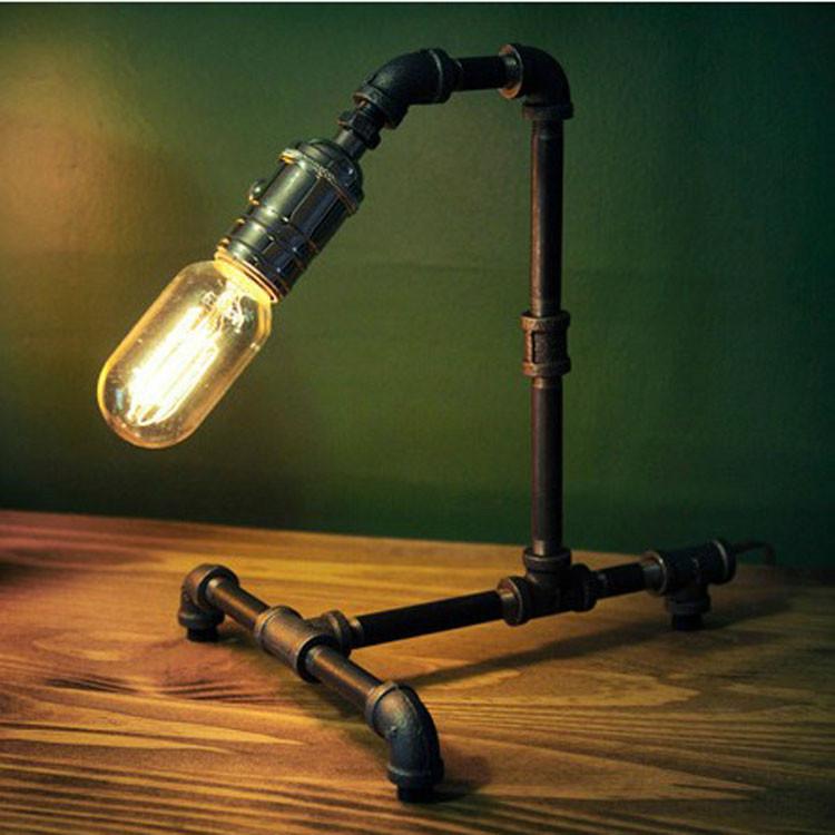 Лампа настольная E27 60W 110v/240v