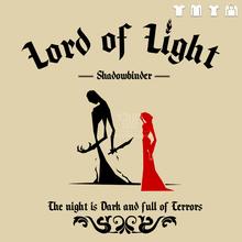 Game of thrones red priestess Melisandre lord of ligh shadowbinder Gildan t-shirt 180gsm 100% ingspun cotton free shipping