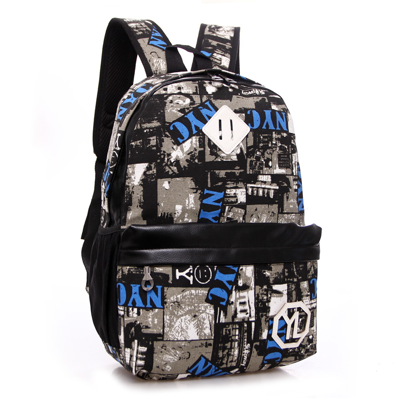 Men and women's high quality camouflage canves backpack Fashion outdoor sport bag gym bag College style school bag for boys(China (Mainland))