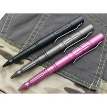 Tactical Pen Self Defense Cooyoo Emergency Tool Aviation Aluminum Anti-skid Portable Tool With Clips
