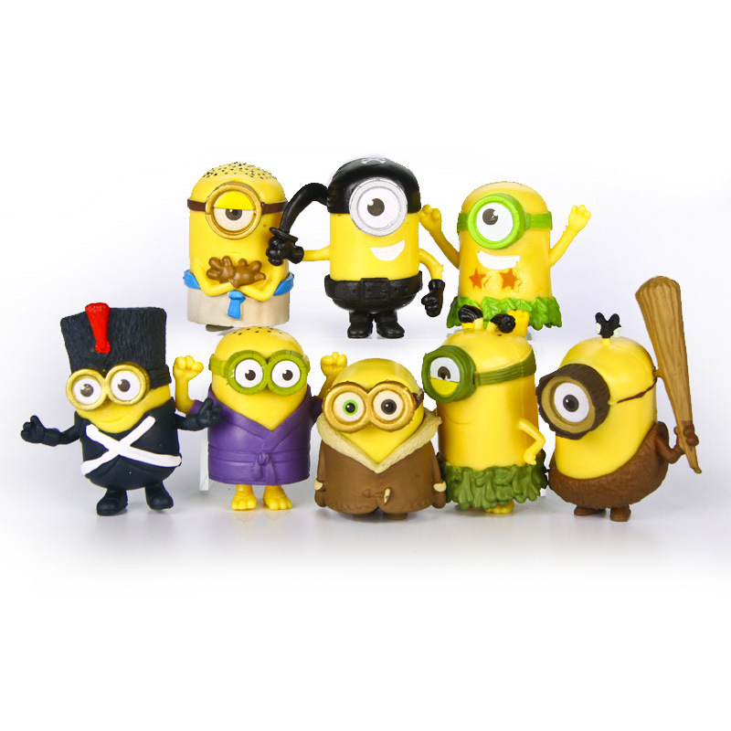 Minion Toys And Games : New pcs set minions toys doll action figure anime