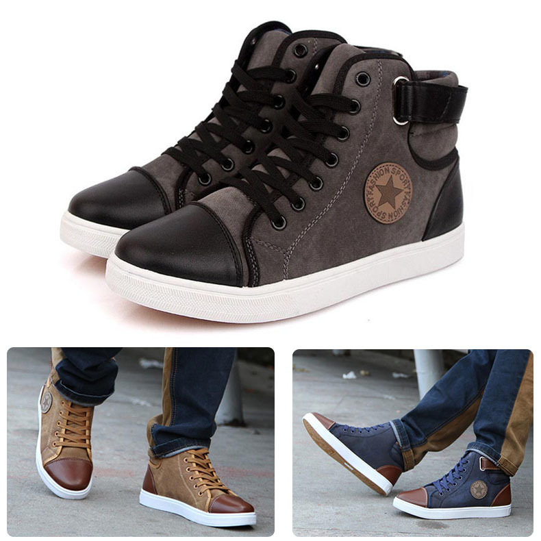 Men's Cheap High Fashion Shoes Popular Mens High Top Buy