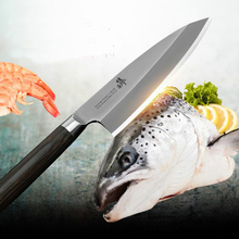 Buy Free Shipping LD High Quality Professional Cuisine Knife Kitchen Cooking Knife Chef Cleaver Sashimi Salmon Sushi Fish Knives for $86.19 in AliExpress store