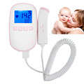 Medical Diagnostic tool Fetal Doppler 2 0MHz Probe LCD Ultrasound Prenatal Detector Baby Heart Rate Monitor