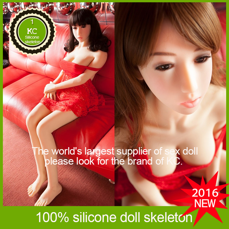 Anal hot sale real silicone sex Doll Size 158cm Japanese Anime Metal Skeleton Sex Doll Full Silicone Human Solid Male Sexy dolls(China (Mainland))