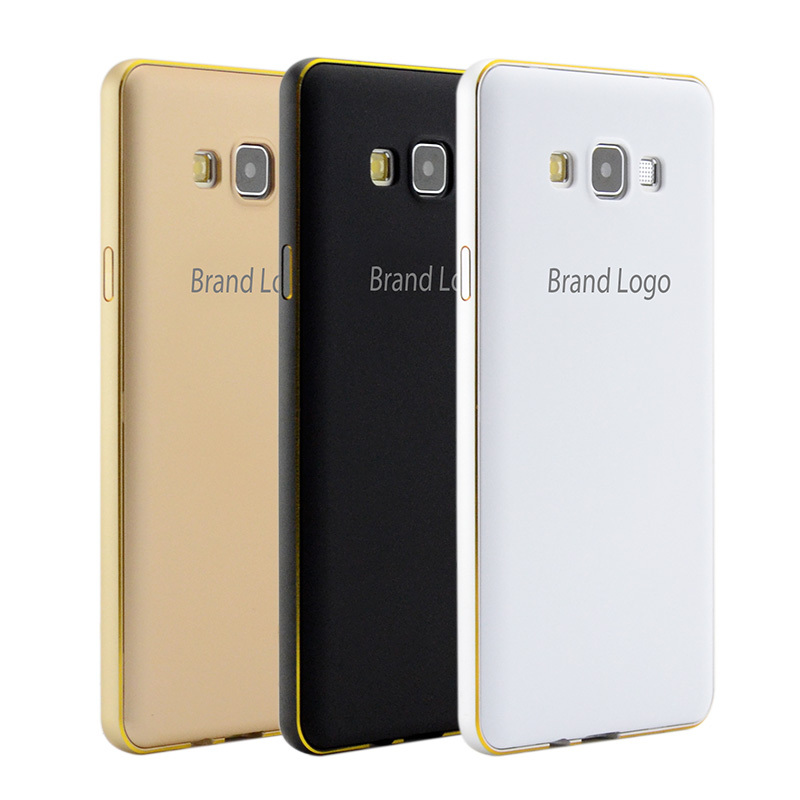 2in1 Luxury Metal Frame + PC Back Cover A300 Accessories Cell Mobile Phone Cases Aluminum Bumper For Samsung Galaxy A3 Case(China (Mainland))
