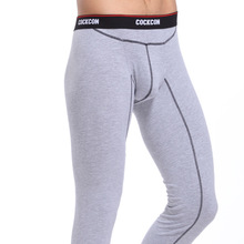 S50 Wholesale New 2016 warm brand name cotton thermal underwear thermo underwear man long john underpants M L XL XXL(China (Mainland))
