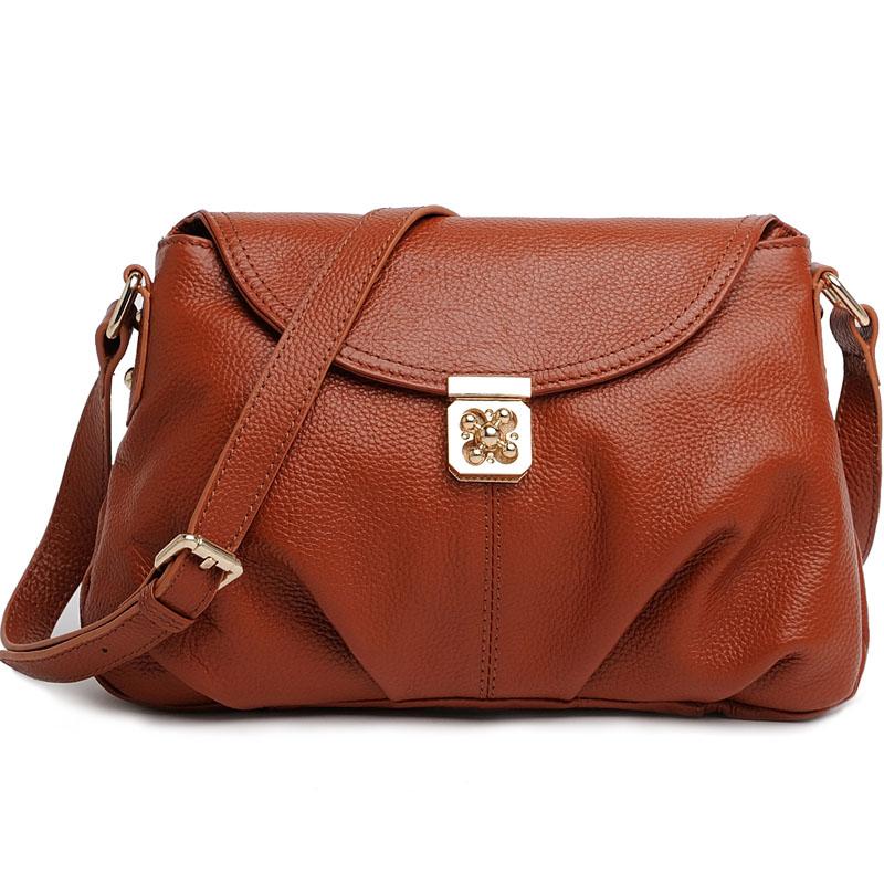 Fashion vintage 2013 womens genuine leather handbag bag messenger bag fashion first layer of cowhide small bag<br><br>Aliexpress