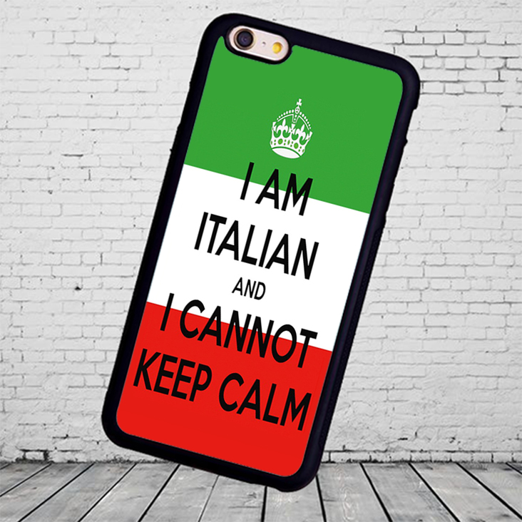 italian can t keep calm cell soft skin shell case for Samsung S3 S4 S5 S6 S7 S8 edge Note2 3 4 5 Mobile cell phone bags(China (Mainland))