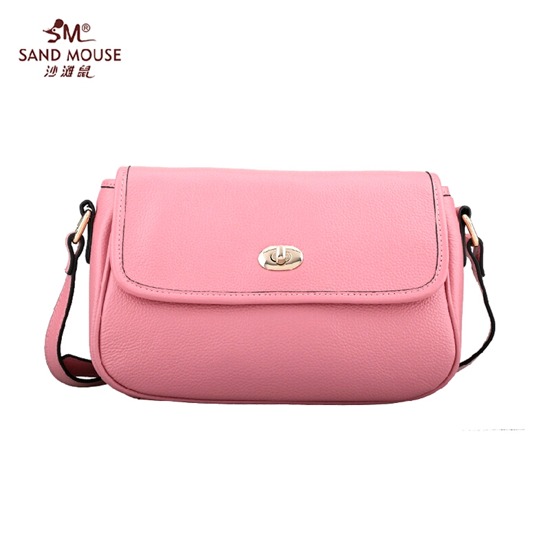 2015 New Arrival Famous Brand Women Bag Fashion High Quality Genuine Leather Women Flap Handbag Women Solid Cover Messenger Bags<br><br>Aliexpress