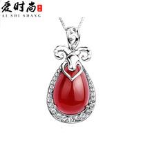 fashion 925 Silver Pendant Zodiac sheep sheep in this animal year three Yang Kaitai jewelry silver jewelry wholesale