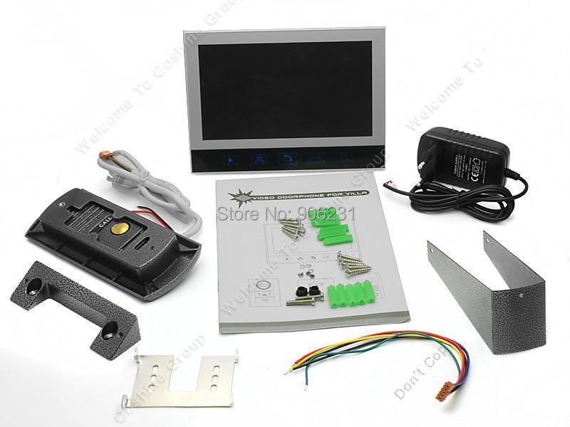 "Гаджет  Free shipping!ACTOP Doorbell Camera Video Intercom Doorphone 7"" HD 800*480P Touch Monitor +SD DVR None Аппаратные средства"