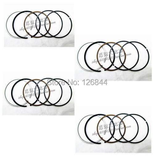 A set 100% New High quality Motorcycle Piston ring for Yamaha FZR250 FZR 250 RR 3LN STD Bore size 48mm ( Free shipping )(China (Mainland))