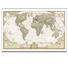 FREE SHIPPING Scan the Globe At Home,Travel Around the World on Map Canvas Art,Framed and Stretched Ready to Hang on,24x36inches(China (Mainland))