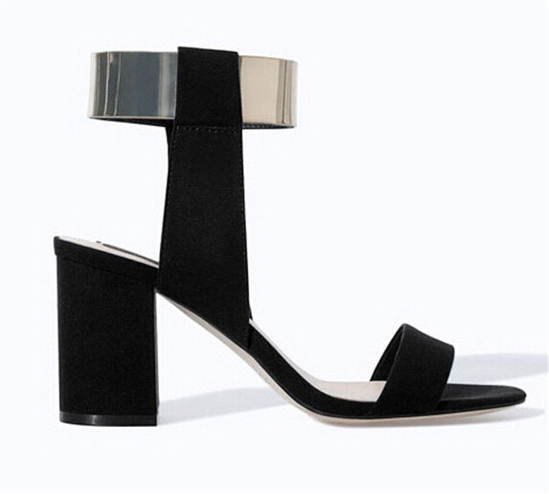 Summer Sandals 2015 Fashion Women Black Pumps Party High Heels  Ladies Shoes Sandali De Tacon Sandales Wedding High Heel Shoes <br><br>Aliexpress