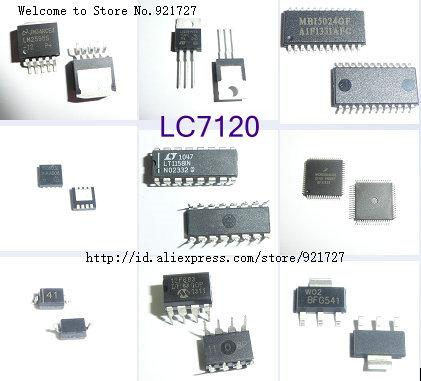 FREE SHIPPING 2 PCS LC7120 DIP CMOS LSI 27 MHz CB TRANSCEIVER PLL frekuensi SYNTHESIZER