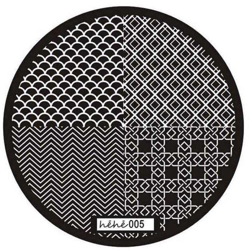 Graceful 2016 Unique Pattern Nail Art Image Stamp Stamping Plates Manicure Steel Template 005 PROFESSIONAL DECOR JUN16(China (Mainland))