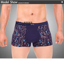 Min Order $7 2014 Hot Brand U Bugle Men's Sexy Antibacterial Cotton Male Underwear Boxers Man Bamboo Boxer Shorts Breathable(China (Mainland))