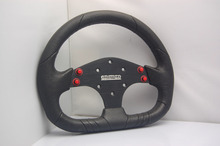 PU+ leather Sports steering wheel for Modified Car Universal  13 inches /320 mm(China (Mainland))