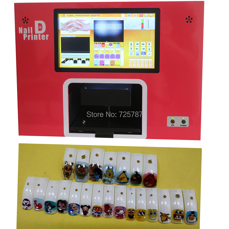 Magnificent Digital Nail Art Printer Machine Photo - Nail Paint ...