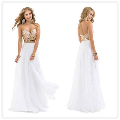 Long White Dresses Under 100