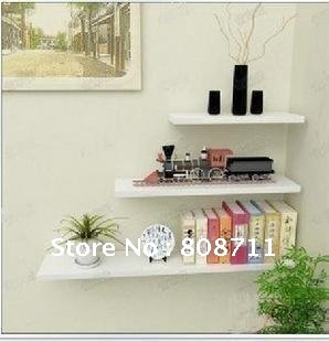 Opening Sale 25%OFF Bookshelf Wall Mount, Wall Shelf, Dvd Shelf, Rack (home decoration, DIY)(China (Mainland))