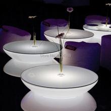 Freies verschiffen FÜHRTE Runde Pub Tisch Sätze Gartentisch Nachtclub Möbel farbe cocktail-tisch GEFÜHRT möbel(China (Mainland))