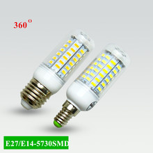 Buy Super LED Bulb E27 E14 220V SMD 5730 LED Lamp 24 36 48 56 69leds AC 230V 5730SMD LED Corn Bulb light Chandelier AC200-240V for $1.13 in AliExpress store