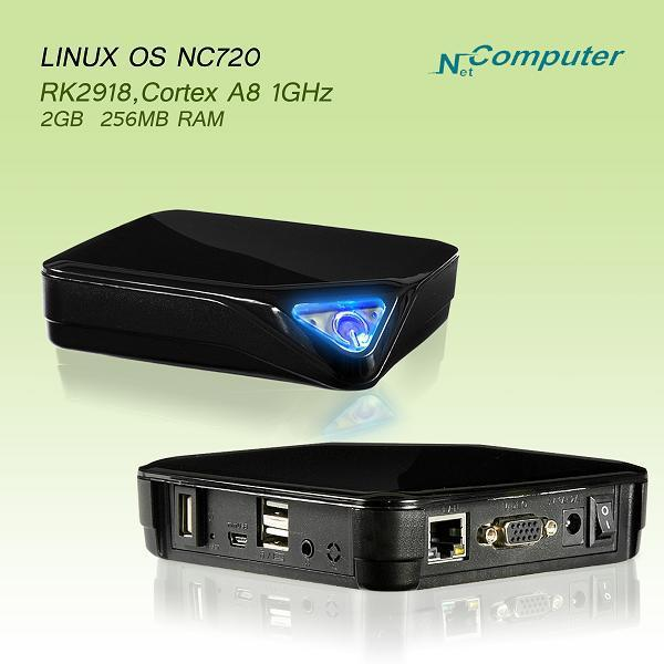 Free shipping  Linux embeded system  support windows7/2008server pc station