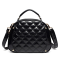Classy Round Quilted Bag Trendy Fashionable Sweet Style Women Shoulder Bag Classic Diamond Lattice Small Crossbody