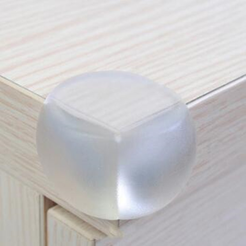 10 Piece/lot Infant safety corner of the protective cover of the spherical transparent protective angle (circular)