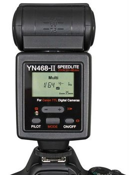 YN - 468 ii the second generation flash with TTL applicable Canon automatic zoom