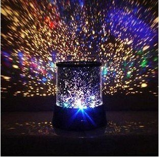 2015 Real Lava Lamp Night Yang Star's Projection Lamp New Romantic Colourful Cosmos Master Led Projector(China (Mainland))