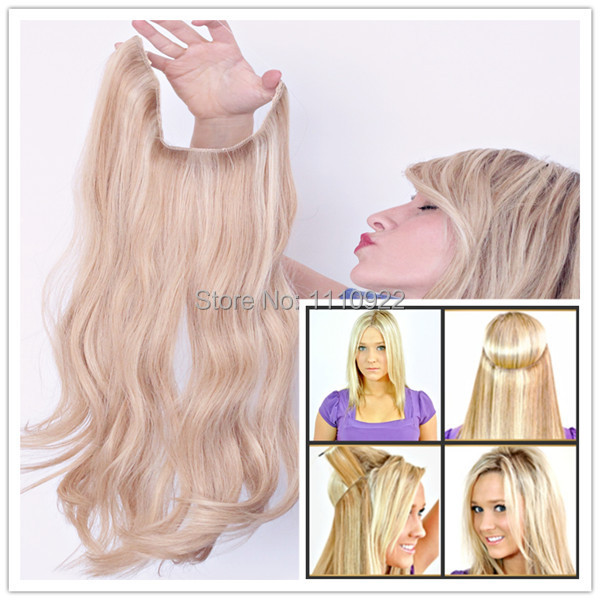 Flip In Hair Extensions Halo Human Hair Extensions