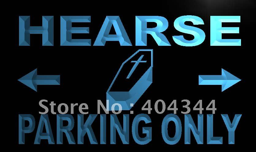 LN360- Hearse Parking Only LED Neon Light Sign(China (Mainland))