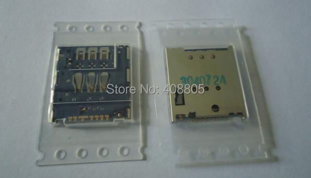 100PCS/LOT,original new SIM card reader socket Holder Connector Slot Tray Module for SONY LT22 LT22I,free shipping