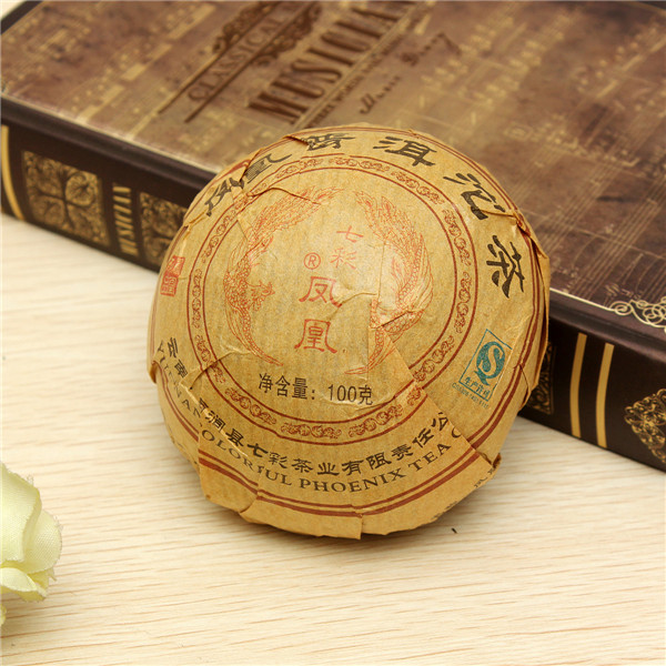 Hot Selling 2002 Premium Yunnan puer tea Old Tea Tree Materials Pu erh 100g Ripe Tuocha