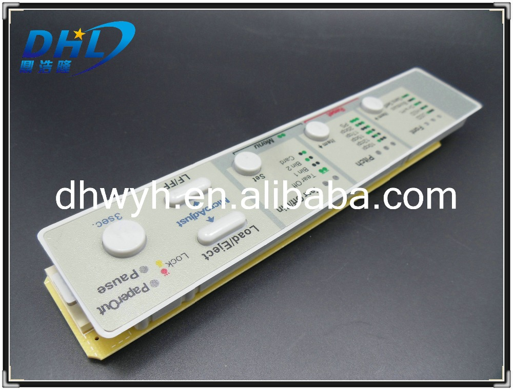 Free Shipping New Compatible OP Front Panel Bedienfeld Tastenfeld for Epson LQ 590 2090 FX 890 2190 1598047 1262597(China (Mainland))