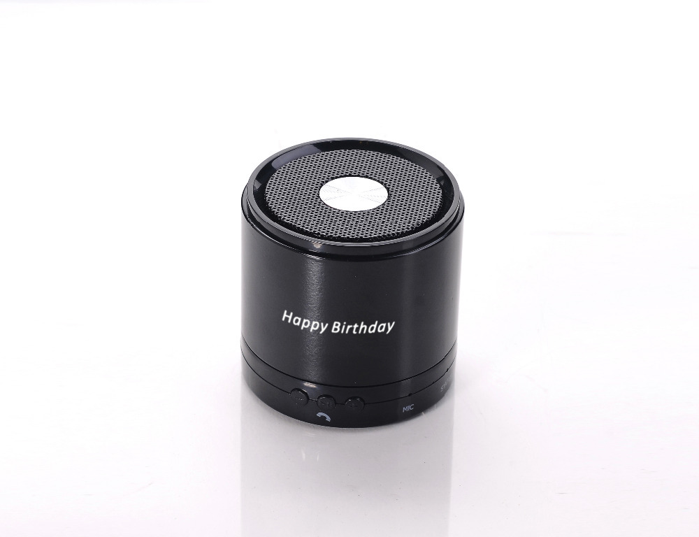 Custom LOGO My vision mini portable black bass speaker / Speakerphone / computer microphone / handset speaker free shipping(China (Mainland))