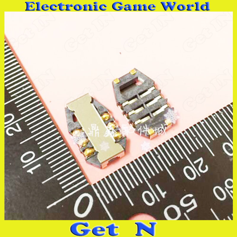 100pcs   6Pins SIM Slots Easy Type for Mobile Phone Clamshell Short Sim Ports<br><br>Aliexpress