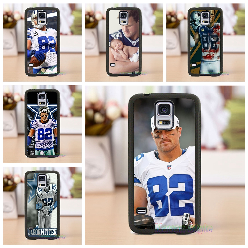 Jason Witten #8 Dallas Cowboys phone case cover for Samsung Galaxy S3 S4 S5 note 3 note 4 note 5 s6 s7 s6 edge s7 edge(China (Mainland))