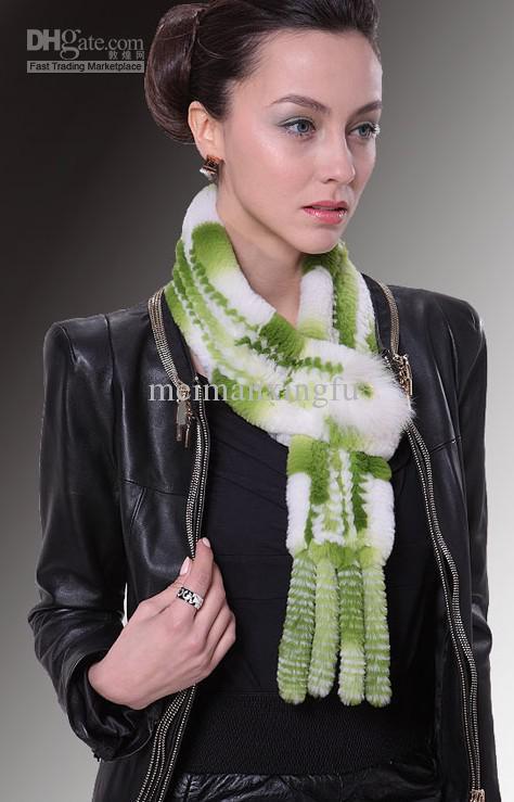Winter 2012, the new fox hair bulb rabbit fur collar fur scarf furs(China (Mainland))