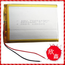 Polymer battery 7068105 3.7V 6000mAh PDA Tablet with protection board computer learning hine