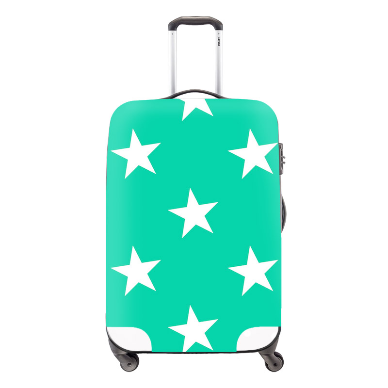 2016 luggage cover suitcase,waterproof luggage cover,star,trolly case protect cover,elastic polyester luggage cover for ladies(China (Mainland))