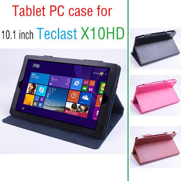 Original Teclast X10HD Flip Utra Thin Leather Case for Teclast X10 HD Octa Core 2015 New 10.1 inch Tablet PC Teclast X10HD Case(China (Mainland))