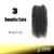 Бесплатная Доставка 12 ''~ 22'' 3C ~ 4А Kinky Вьющиеся 3 Пучок/много QWB Высшего Сорта Девы бразильские Волосы С Кутикулой Нетронутыми