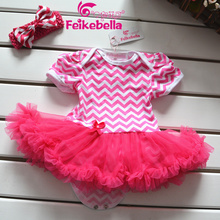 Summer new arrival 2014 toddler girl clothing princess baby bodysuits tutu skirt and bow headband infant newborn jumpsuit(China (Mainland))